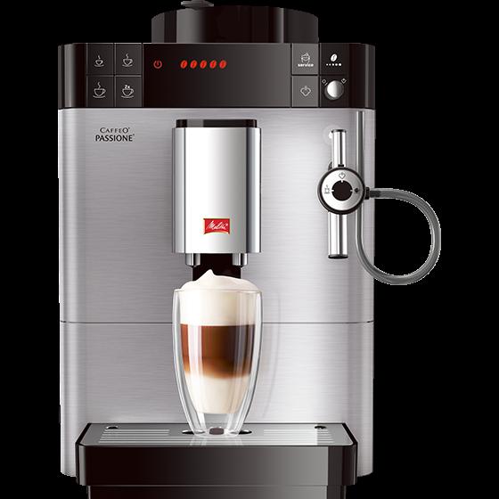 Caffeo® Passione® Kaffeevollautomat, Edelstahl (2. Wahl)