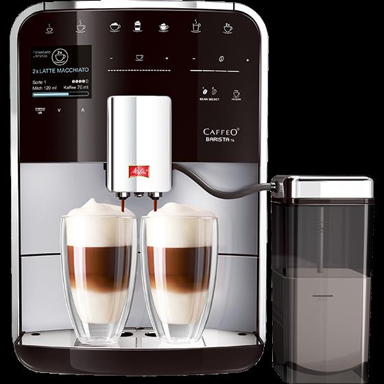 Caffeo Barista® TS Kaffeevollautomat, silber (2. Wahl)