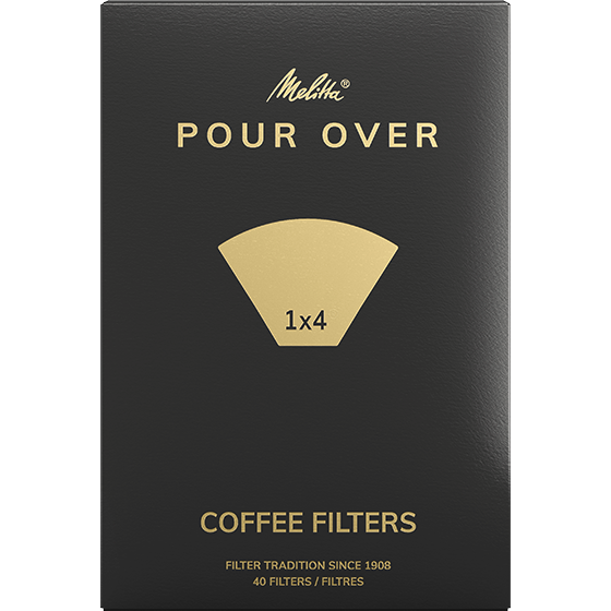 Pour Over Coffee Filters 1x4®