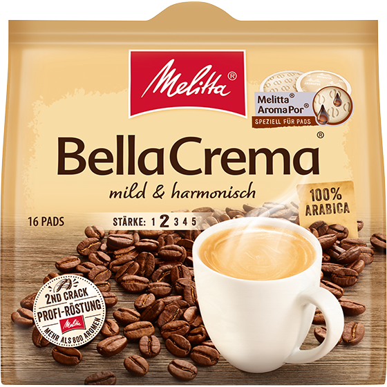 Melitta® BellaCrema® mild & harmonisch Kaffeepads