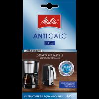 Détartrant en pastille ANTI CALC pour cafetières filtre et bouilloire