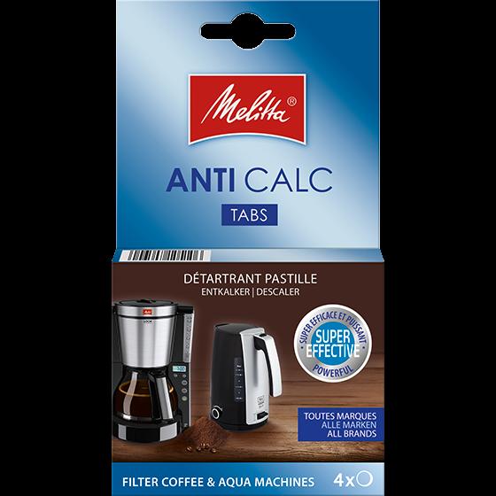 Anti Calc Tabs für Filterkaffeemaschinen und Wasserkocher