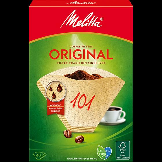 Melitta® Filtertüten® Original, 101, braun