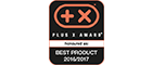 Plus X Award Best Product 2016/2017
