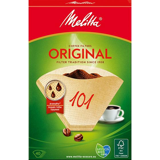 Filtres caf melitta original 101 bruns melitta - Moulin a cafe melitta ...