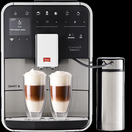 machine expresso automatique barista ts smart acier inoxydable melitta boutique en ligne. Black Bedroom Furniture Sets. Home Design Ideas